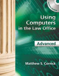Using Computers in Law Office, Avanced - With CD Excellent Marketplace listings for  Using Computers in Law Office, Avanced - With CD  by Matthew S. Cornick starting as low as $1.99!