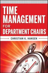 Time Management for  Department Chairs Excellent Marketplace listings for  Time Management for  Department Chairs  by Hansen starting as low as $11.76!