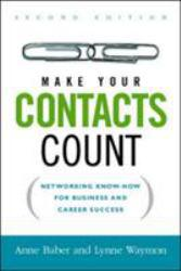 Make Your Contacts Count Excellent Marketplace listings for  Make Your Contacts Count  by Baber starting as low as $1.99!