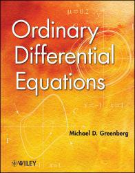 Ordinary Differential Equations Excellent Marketplace listings for  Ordinary Differential Equations  by Michael D. Greenberg starting as low as $118.68!