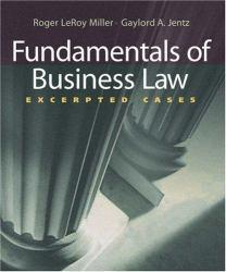 Fundamentals of Business Law - With Online Guide Excellent Marketplace listings for  Fundamentals of Business Law - With Online Guide  by Roger LeRoy Miller starting as low as $1.99!