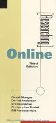 Researching Online Excellent Marketplace listings for  Researching Online  by David  Ed. Munger starting as low as $1.99!