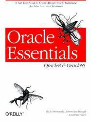 Oracle Essentials : Oracle8 and Oracle8I Excellent Marketplace listings for  Oracle Essentials : Oracle8 and Oracle8I  by Rick Greenwald, Robert Stackowiak and Jonathan Stern starting as low as $1.99!