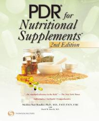 PDR for Nutritional Supplements Excellent Marketplace listings for  PDR for Nutritional Supplements  by Sheldon Hendler starting as low as $15.44!