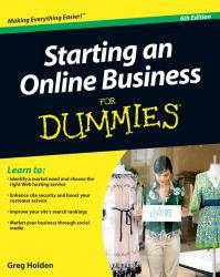 Starting an Online Business, for Dummies Excellent Marketplace listings for  Starting an Online Business, for Dummies  by Greg Holden starting as low as $1.99!