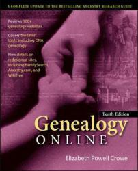 Genealogy Online A digital copy of  Genealogy Online  by Elizabeth Crowe. Download is immediately available upon purchase!