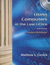Using Computers in Law Office - Workbook Excellent Marketplace listings for  Using Computers in Law Office - Workbook  by Brent D. Roper starting as low as $1.99!