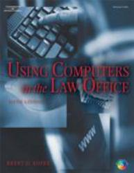 Using Computers in the Law Office - With 2 CD's Excellent Marketplace listings for  Using Computers in the Law Office - With 2 CD's  by Brent Roper starting as low as $1.99!