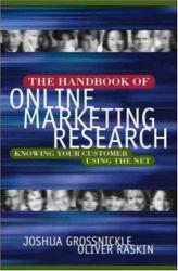 Handbook of Online Marketing Research Excellent Marketplace listings for  Handbook of Online Marketing Research  by Joshua Grossnickle and Olivia Raskin starting as low as $1.99!