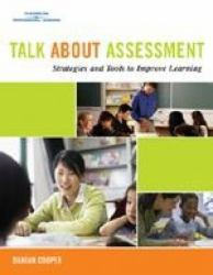 Talk About Assessment -With CD and DVD Excellent Marketplace listings for  Talk About Assessment -With CD and DVD  by Damian Cooper starting as low as $10.63!