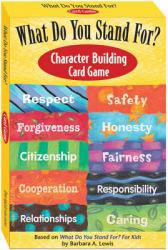 What Do You Stand for? Character Building Card Game Excellent Marketplace listings for  What Do You Stand for? Character Building Card Game  by Free Spirit Publishing Staff starting as low as $93.46!