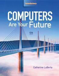 Computers Are Your Future: Introductory - With CD A hand-inspected Used copy of  Computers Are Your Future: Introductory - With CD  by Cathy Laberta. Ships directly from Textbooks.com