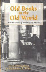 Old Books In the Old World Excellent Marketplace listings for  Old Books In the Old World  by Rostenberg starting as low as $3.05!