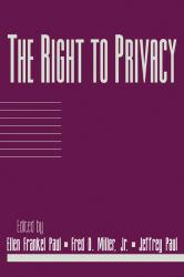 Right to Privacy Excellent Marketplace listings for  Right to Privacy  by Paul starting as low as $12.72!