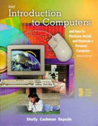 Brief Introduction to Computers Excellent Marketplace listings for  Brief Introduction to Computers  by Gary B. Shelly and Thomas J. Cashman starting as low as $6.35!