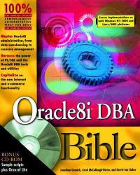 Oracle 81 DBA Bible - With CD Excellent Marketplace listings for  Oracle 81 DBA Bible - With CD  by Jonathan Gennick, McCullough-Dieter and Linker starting as low as $1.99!