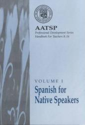 Spanish for Native Speakers Excellent Marketplace listings for  Spanish for Native Speakers  by Lynn A. Sandstedt starting as low as $99.99!