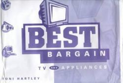 "Best Bargain TV and Appliances - With 3.5"" Disk Excellent Marketplace listings for  Best Bargain TV and Appliances - With 3.5"" Disk  by Toni Hartley starting as low as $213.11!"
