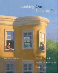 Looking Out / Looking In - With CD A hand-inspected Used copy of  Looking Out / Looking In - With CD  by Ronald B. Adler. Ships directly from Textbooks.com