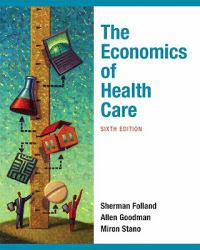 Economics of Health and Health Care Excellent Marketplace listings for  Economics of Health and Health Care  by Sherman Folland starting as low as $1.99!