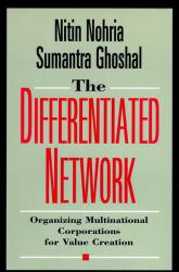 Differentiated Network Excellent Marketplace listings for  Differentiated Network  by Nitin Nohria and Sumantra Ghoshal starting as low as $1.99!