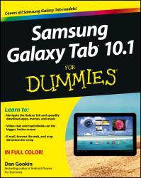 Samsung Galaxy Tab 10.1 for Dummies Excellent Marketplace listings for  Samsung Galaxy Tab 10.1 for Dummies  by Dan Gookin starting as low as $1.99!