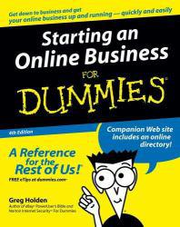 Starting an Online Business For Dummies Excellent Marketplace listings for  Starting an Online Business For Dummies  by Greg Holden starting as low as $1.99!