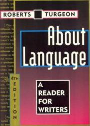 About Language Excellent Marketplace listings for  About Language  by William H. Roberts and Gregoire Turgeon starting as low as $1.99!