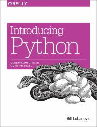 Introducing Python: Modern Computing in Simple Packages Excellent Marketplace listings for  Introducing Python: Modern Computing in Simple Packages  by Bill Lubanovic starting as low as $13.96!