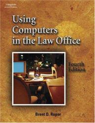 Using Computers in Law Office / With 2 CD's Excellent Marketplace listings for  Using Computers in Law Office / With 2 CD's  by Brent Roper starting as low as $1.99!