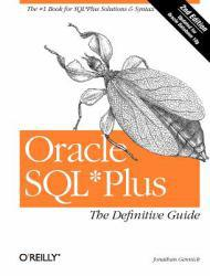 Oracle SQL*Plus : Definitive Guide Excellent Marketplace listings for  Oracle SQL*Plus : Definitive Guide  by Jonathan Gennick starting as low as $1.99!