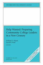 Help Wanted : Preparing Community College Leaders in a New Century Excellent Marketplace listings for  Help Wanted : Preparing Community College Leaders in a New Century  by William E. Piland and David B. Wolf starting as low as $1.99!