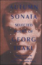 Autumn Sonata Excellent Marketplace listings for  Autumn Sonata  by Georg Trakl starting as low as $38.77!