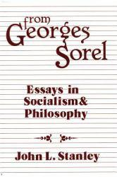 From Georges Sorel Excellent Marketplace listings for  From Georges Sorel  by Sorel starting as low as $9.00!