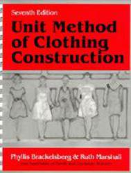 Unit Method of Clothing Construction Excellent Marketplace listings for  Unit Method of Clothing Construction  by Phyllis Brackelsberg and Ruth Marshall starting as low as $10.82!