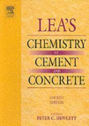 Lea's Chemistry of Cement and Concrete Excellent Marketplace listings for  Lea's Chemistry of Cement and Concrete  by Peter Hewlett starting as low as $158.90!