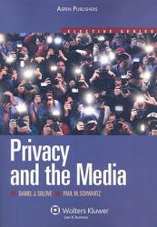 Privacy and the Media A hand-inspected Used copy of  Privacy and the Media  by Paul M. Schwartz. Ships directly from Textbooks.com