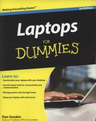 Laptops for Dummies Excellent Marketplace listings for  Laptops for Dummies  by Dan Gookin starting as low as $1.99!