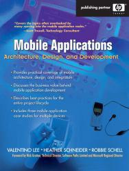 Mobile Applications A New copy of  Mobile Applications  by Lee. Ships directly from Textbooks.com