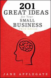 201 Great Ideas for Your Small Business Excellent Marketplace listings for  201 Great Ideas for Your Small Business  by Jane Applegate starting as low as $1.99!