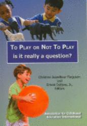 To Play or Not to Play Excellent Marketplace listings for  To Play or Not to Play  by Christine Jeandheur Ferguson starting as low as $1.99!