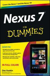 Nexus 7 forDummies (Google Tablet) Excellent Marketplace listings for  Nexus 7 forDummies (Google Tablet)  by Gookin dan starting as low as $1.99!