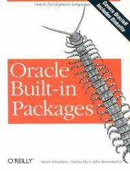 """Oracle Built-in Packages - With 3.5"""" Disk Excellent Marketplace listings for  Oracle Built-in Packages - With 3.5"""" Disk  by Feuerstein starting as low as $1.99!"""
