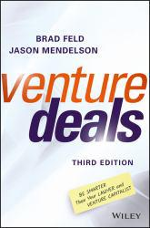 Venture Deals A digital copy of  Venture Deals  by Brad Feld. Download is immediately available upon purchase!
