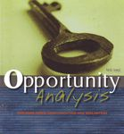 Opportunity Analysis: Business Ideas... A hand-inspected Used copy of  Opportunity Analysis: Business Ideas...  by Izard. Ships directly from Textbooks.com