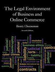Legal Environment of Business and Online Commerce Excellent Marketplace listings for  Legal Environment of Business and Online Commerce  by Henry R. Cheeseman starting as low as $3.50!
