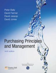Purchasing Principles and Management Excellent Marketplace listings for  Purchasing Principles and Management  by Peter Baily, David Farmer, David Jessop and David Jones starting as low as $3.40!