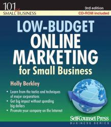 Low-Budget Online Marketing Excellent Marketplace listings for  Low-Budget Online Marketing  by Holly Berkley starting as low as $3.81!