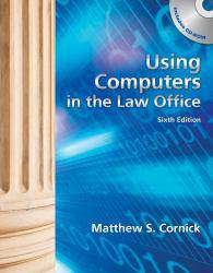 Using Computers in Law Office - Text Only Excellent Marketplace listings for  Using Computers in Law Office - Text Only  by Brent Roper starting as low as $2.31!
