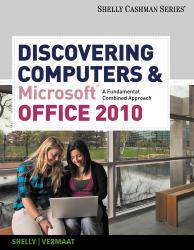Discovering Computers and Microsoft Office 2010 Excellent Marketplace listings for  Discovering Computers and Microsoft Office 2010  by Gary B. Shelly starting as low as $1.99!